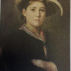 Defregger - Porträt eines Mädchen 1891