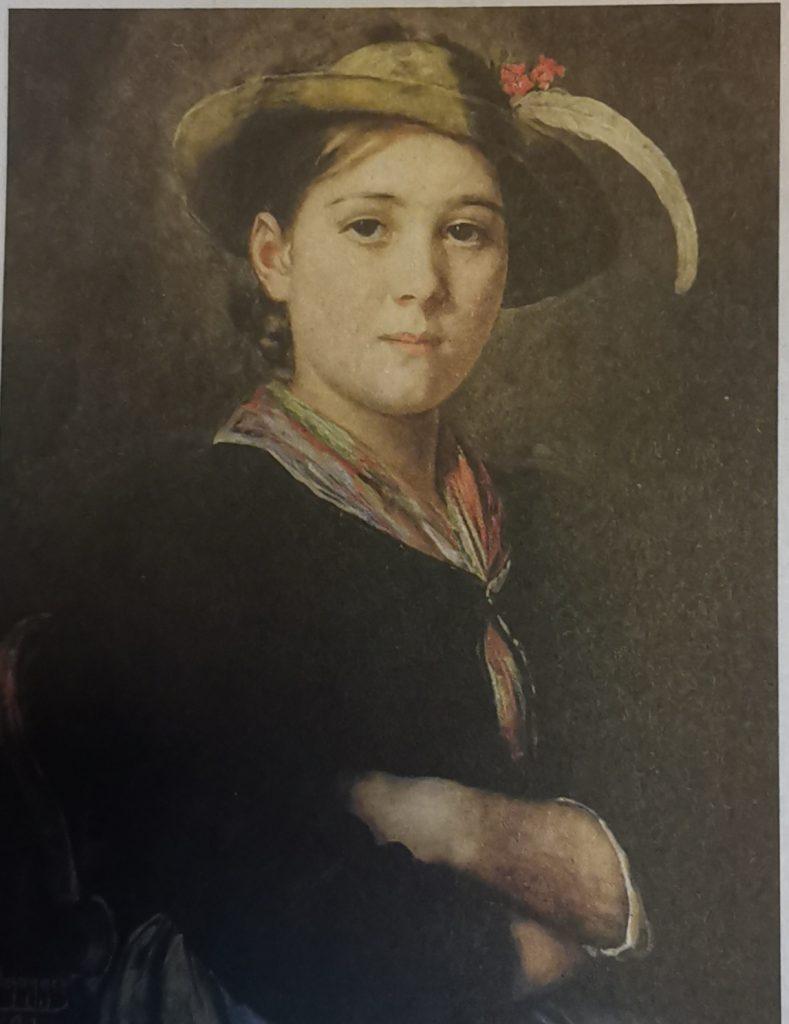 Defregger - Porrät eines Mädchen 1891