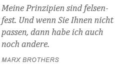 Prinzipien Marx Brothers